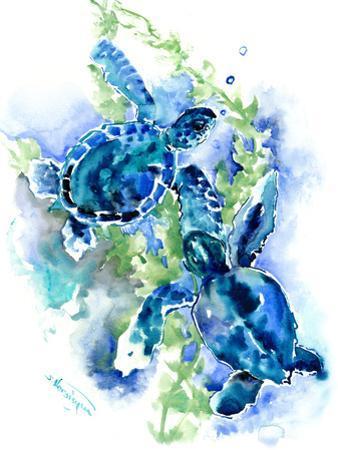 Sea Turtles 1 by Suren Nersisyan