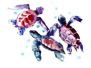Suren Sea Turtles by Suren Nersisyan
