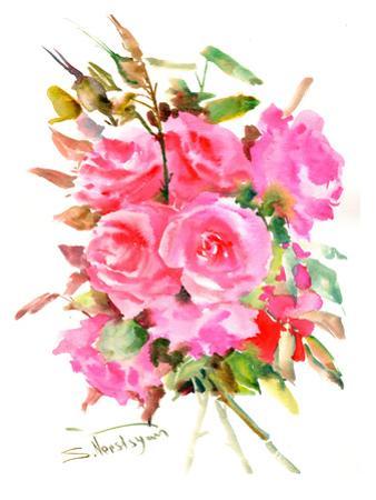 Tea Roses by Suren Nersisyan