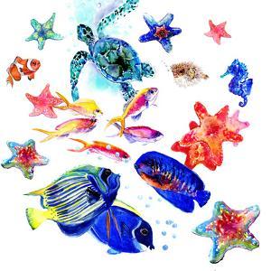 Tropical Sea Life by Suren Nersisyan