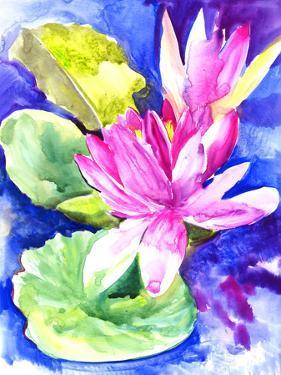 Waterlilies Lotus by Suren Nersisyan