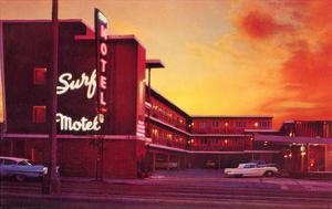 Surf Motel at Sunset, Retro