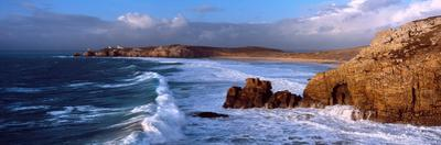 Surf on the Beach, Crozon Peninsula, Finistere, Brittany, France