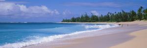 Surf on the Beach, Kauai, Hawaii Islands, USA