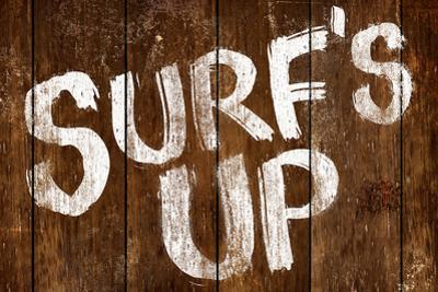Surf's Up Wood-Style