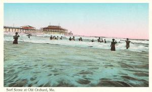 Surf Scene, Old Orchard, Maine