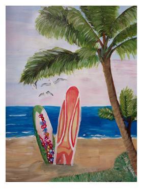 Surfboards Beach by M Bleichner