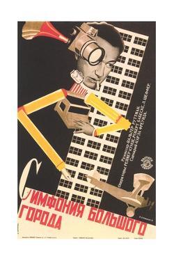 Surrealist Russian Poster