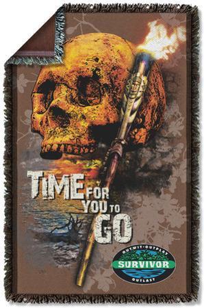 Survivor - Time To Go Woven Throw