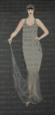 1920s Lady with Cloche Hat 2015 by Susan Adams