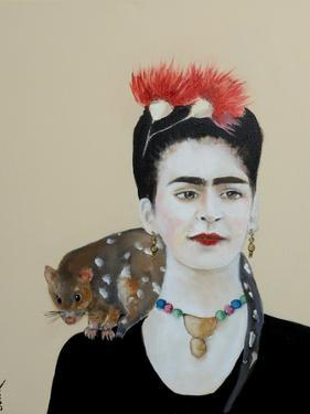 Frida, 2017 by Susan Adams