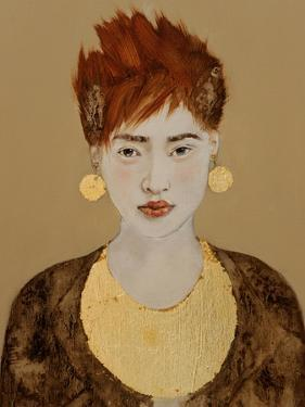 Korean Lady with Bronze Age Jewellery by Susan Adams