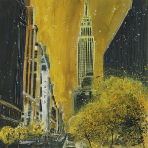 34th Street, Empire State Building, New York by Susan Brown