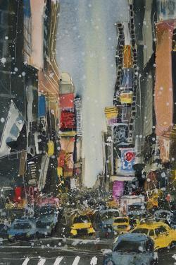 A Study of NY Theatre District by Susan Brown