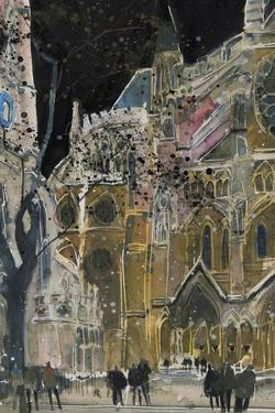 A Study of Westminster Abbey, London by Susan Brown