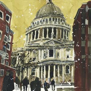 Autumn, St Paul's, London by Susan Brown