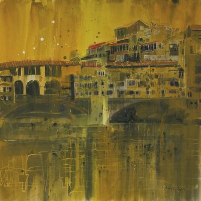 Bathed in Evening Light, Ponte Vecchio, Florence