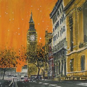 Dusk in Great George Street, London by Susan Brown