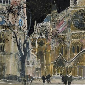 Ecclesiastical Icon, Westminster Abbey, London by Susan Brown