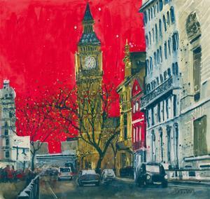 End of the Week, Westminster, London by Susan Brown