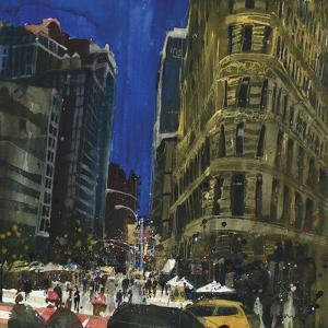 Flat Iron Building, New York by Susan Brown