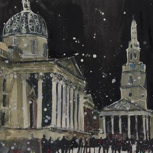 Midnight, St Martins in the Field by Susan Brown