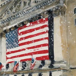 New York Stock Exchange - Detail by Susan Brown