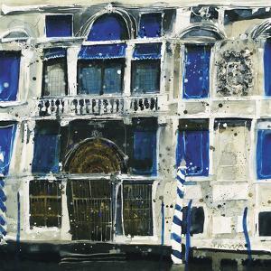 Ornamental Facade, Venice by Susan Brown