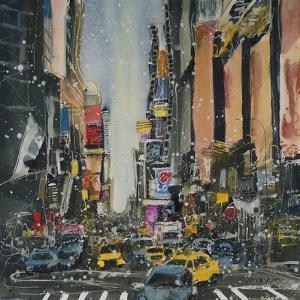 Theatre District, New York by Susan Brown