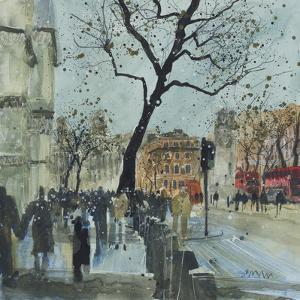 Winter Morning - Whitehall, London by Susan Brown