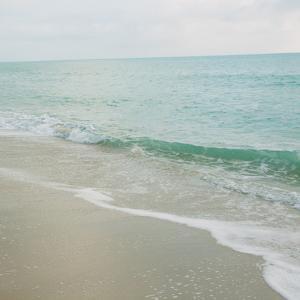Beach Scene I by Susan Bryant