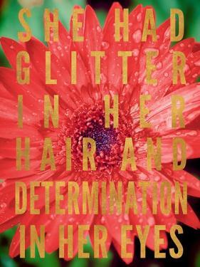 Glittery Flower II by Susan Bryant