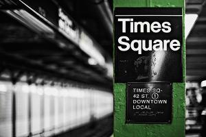 Times Square Subway Green by Susan Bryant