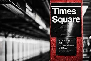Times Square by Susan Bryant