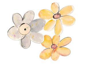 Two Yellows and One Grey by Susan Bryant