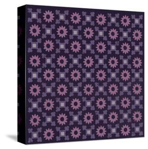 Moroccan Daisy (Purple) by Susan Clickner