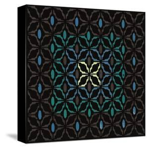 Moroccan Grill (Teal) by Susan Clickner