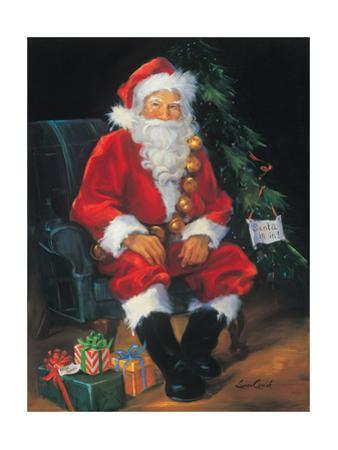 Santa Is In by Susan Comish