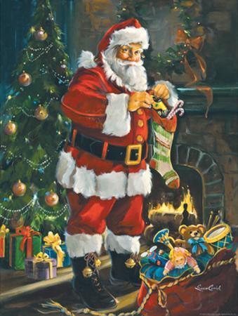 Sneaking Santa by Susan Comish