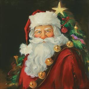 Sparkling Santa by Susan Comish