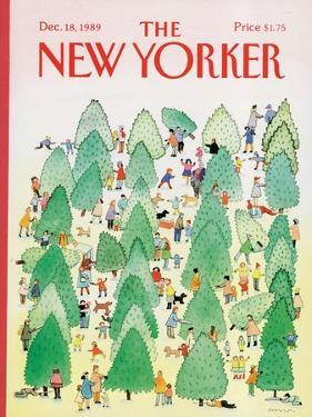 The New Yorker Cover - December 18, 1989 by Susan Davis