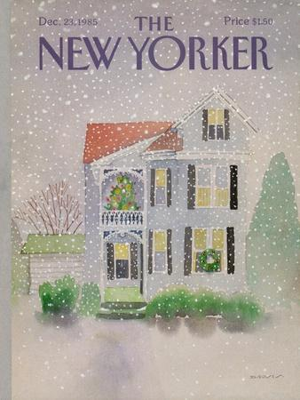 The New Yorker Cover - December 23, 1985