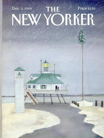 The New Yorker Cover - December 3, 1984
