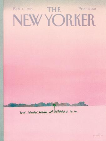 The New Yorker Cover - February 4, 1985