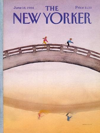 The New Yorker Cover - June 18, 1984