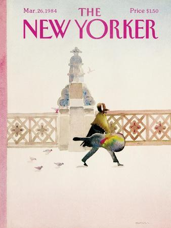 The New Yorker Cover - March 26, 1984