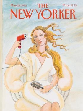 The New Yorker Cover - May 25, 1992 by Susan Davis