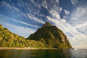 Gros Piton, St. Lucia, West Indies by Susan Degginger