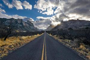 Portal Road, Portal, Arizona by Susan Degginger