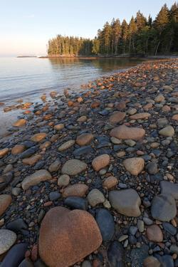 Rocky Granite Beach, Roque Island Archipelago, Down East, Maine by Susan Degginger